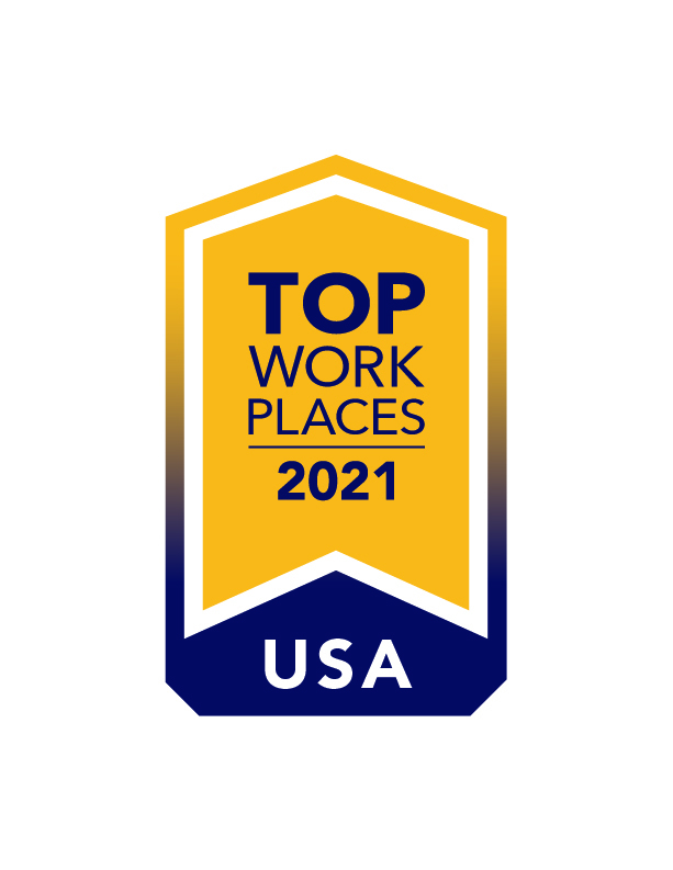 Employee-Owned Cornerstone Systems Named 2021 USA Top Workplace