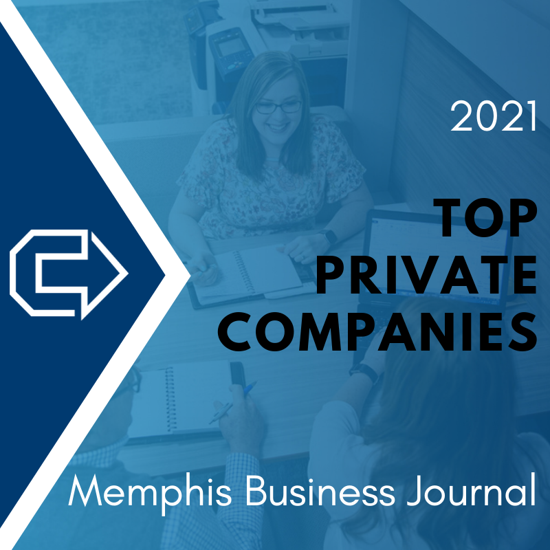 """Cornerstone Systems Named to Memphis Business Journal's """"Top 100 Private Companies"""""""